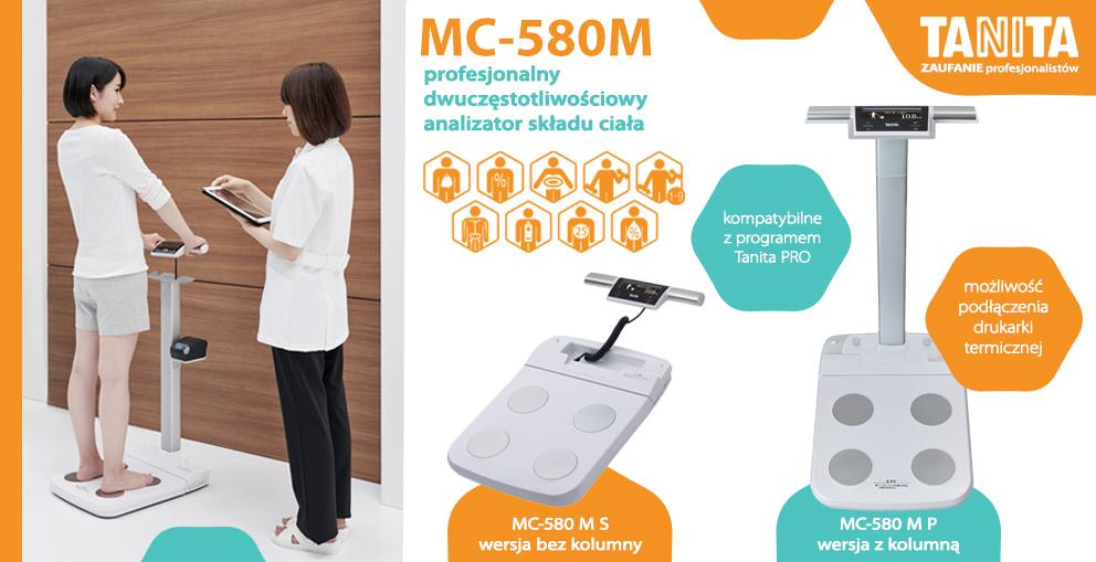 MC-580M, profesjonalny dwuczestotliwosciowy analizator skladu ciala