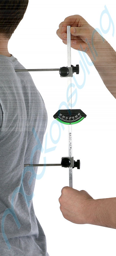 BASELINE® Skoliometr metalowy 12-1091
