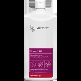 VELODES Silk 1000ml - płyn do higienicznej i chirurgicznej dezynfekcji rąk