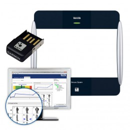 TANITA  BC-1000 BK + ANT Stick + Program GMON FIT 3 [zestaw]