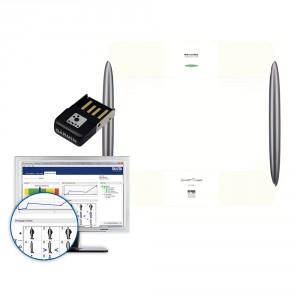 TANITA  BC-1000 WH + ANT Stick + Program GMON FIT 3 [zestaw]