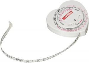 GIMA® Taśma Antropometryczna 150 cm z kalkulatorem BMI (Promocja)